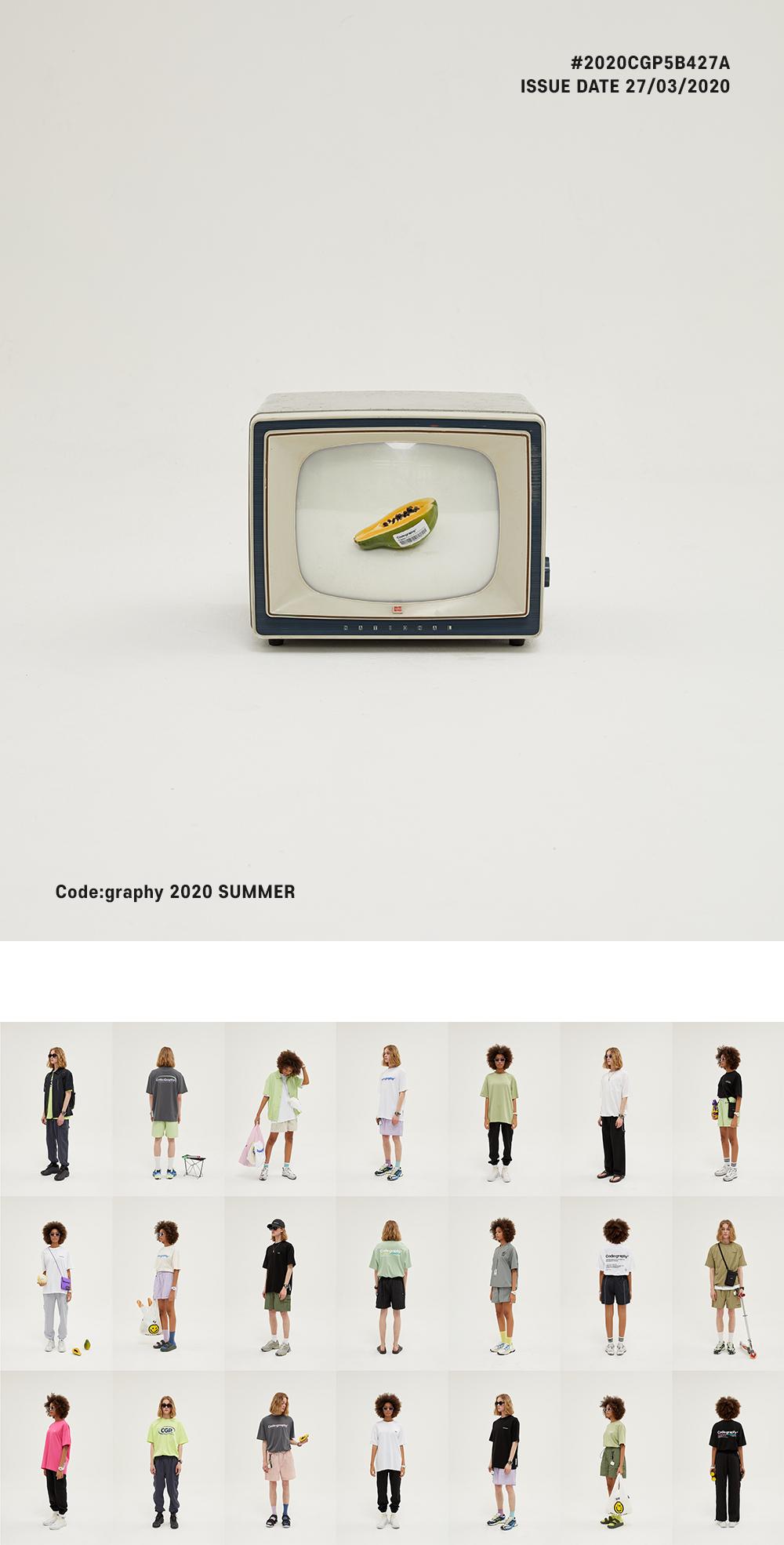 코드그라피(CODEGRAPHY) [세트상품 ]크리스피 나일론 쇼츠